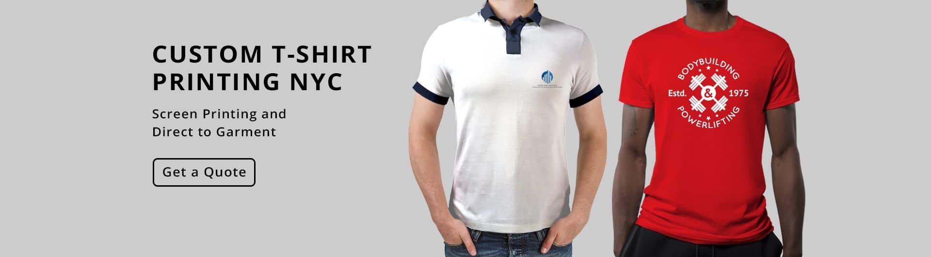 T Shirt Printing NYC