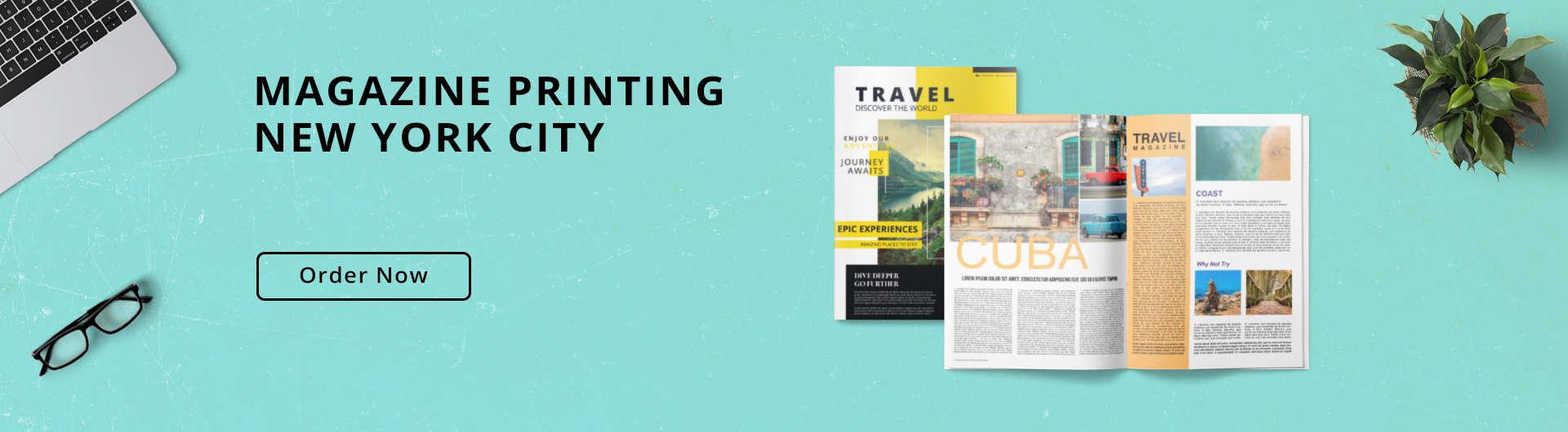 Magazine Printing NYC