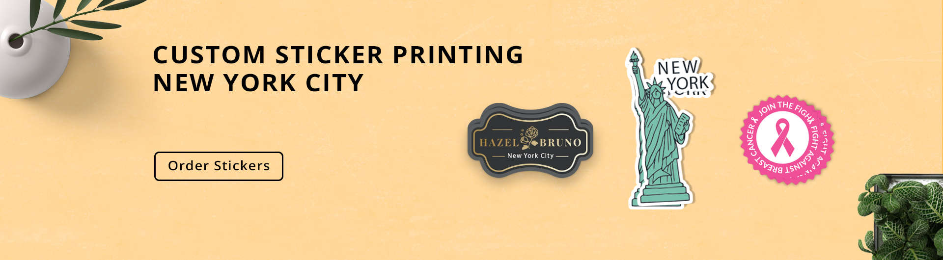 Stickers Printing NYC