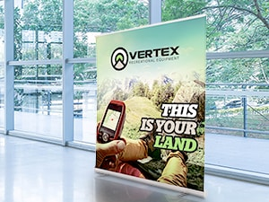Wide Retractable Banners