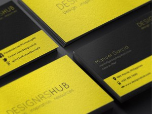 Thick Business Cards