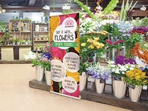 Economy Retractable Banner Stands